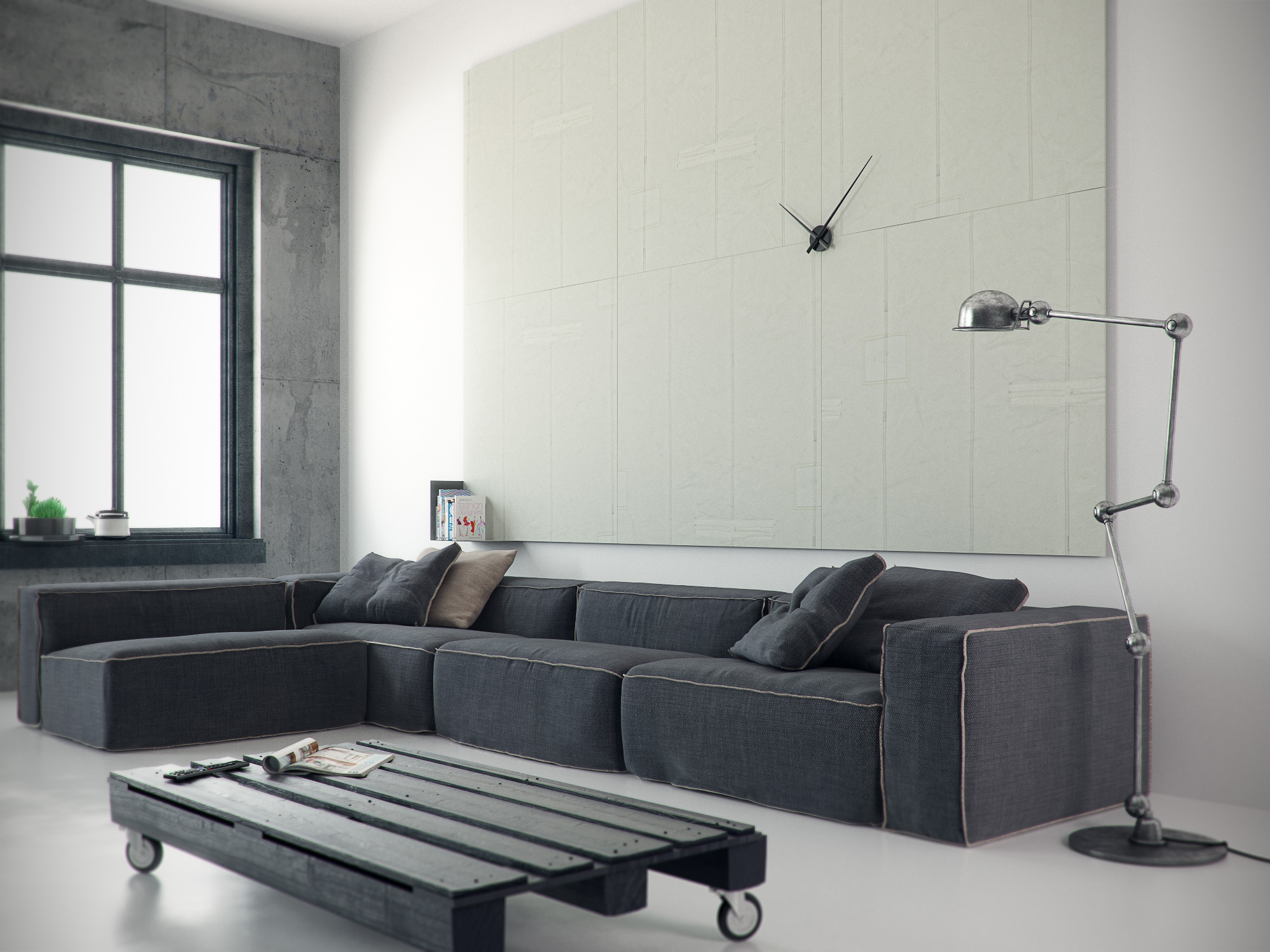 Kamers woonkamer classy