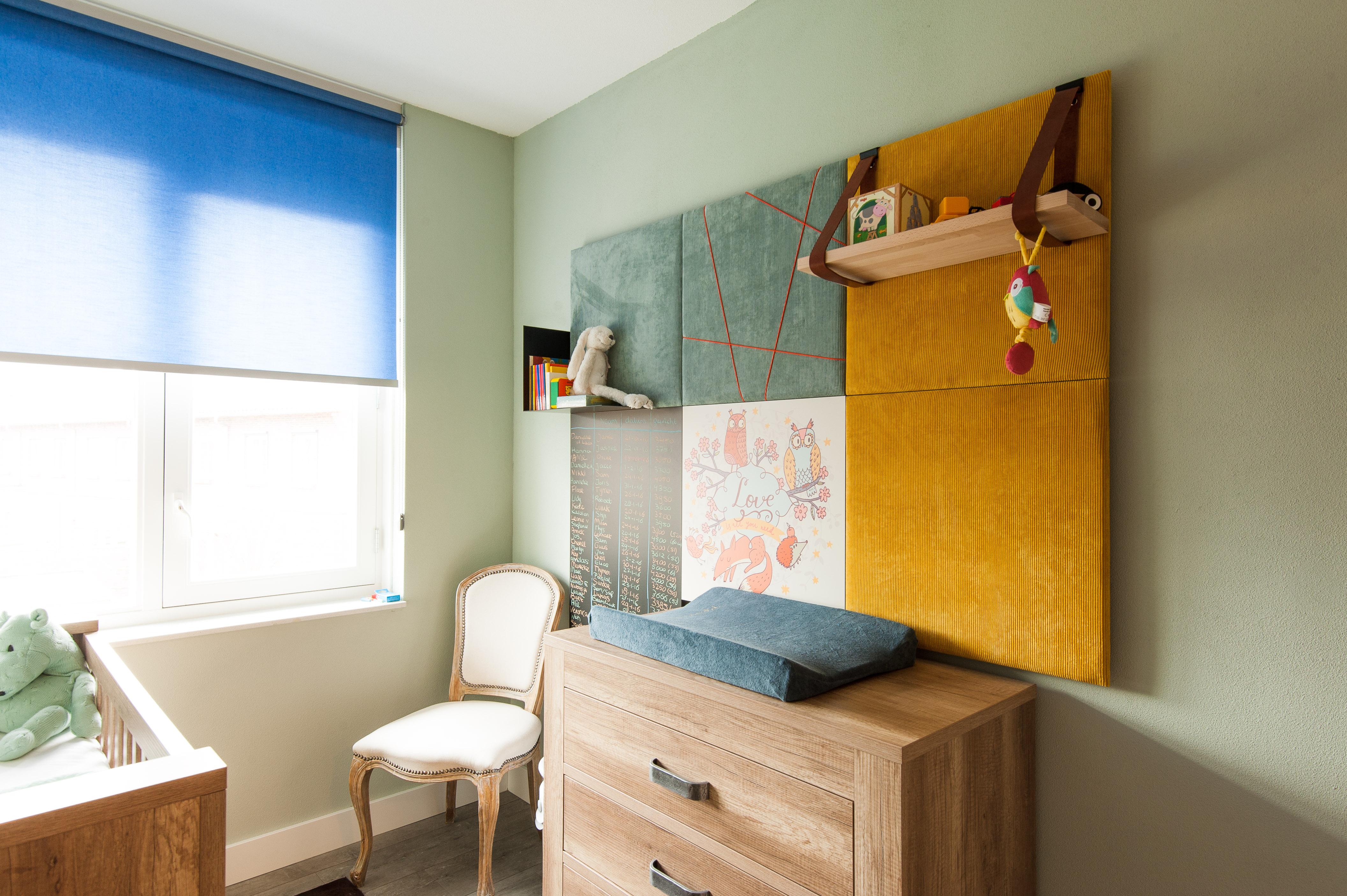 Keuken houten wand - Kinderkamer taupe ...