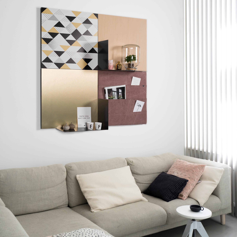 Dock four stylepads eigentijdse wanddecoratie - Eigentijdse muur ...