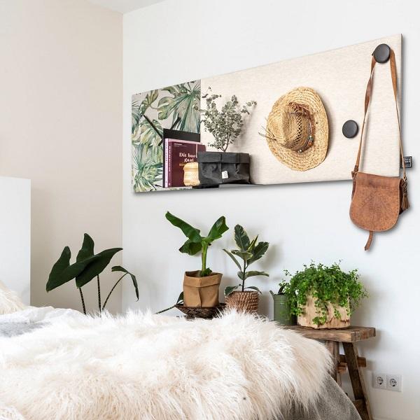 de slaapkamer een plek om tot rust te komen door het gebruik van natuurlijke materialen creer je een serene sfeer de combinatie van de florale print en
